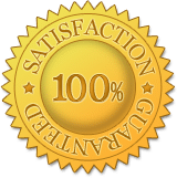 Touch Of Aloha's 100% satisfaction guarantee gold seal of assurance